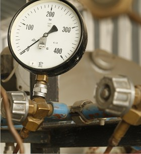 Supply of technical gas